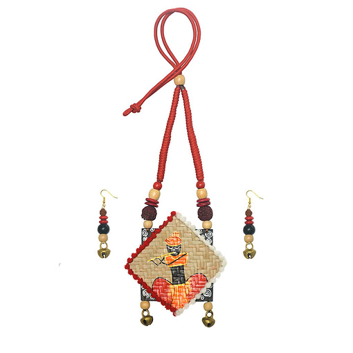 Women Shitolpati Crafted &Amp; Hand Painted Jewellery1
