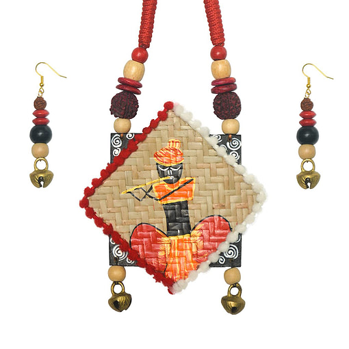 Women Shitolpati Crafted &Amp; Hand Painted Jewellery